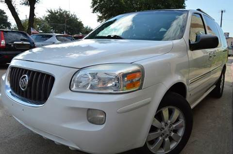 2007 Buick Terraza for sale at E-Auto Groups in Dallas TX