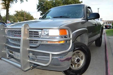 2002 GMC Sierra 2500HD for sale at E-Auto Groups in Dallas TX