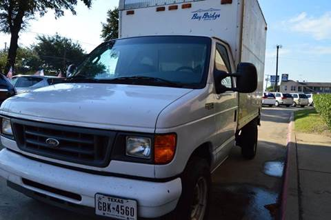 2004 Ford E-Series Chassis for sale at E-Auto Groups in Dallas TX