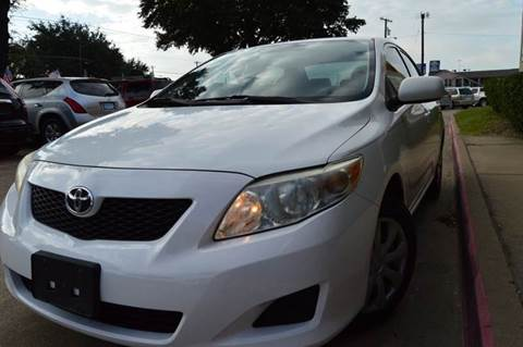 2009 Toyota Corolla for sale at E-Auto Groups in Dallas TX