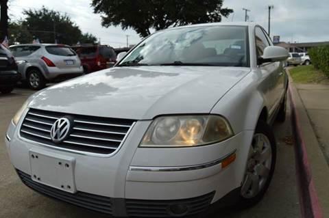 2005 Volkswagen Passat for sale at E-Auto Groups in Dallas TX