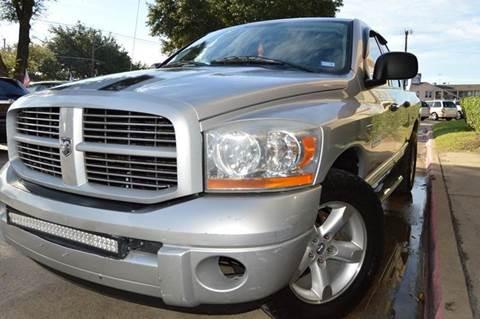 2006 Dodge Ram Pickup 1500 for sale at E-Auto Groups in Dallas TX