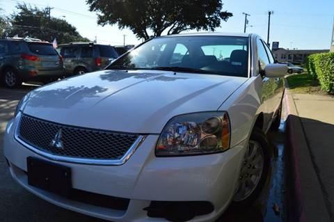 2012 Mitsubishi Galant for sale at E-Auto Groups in Dallas TX