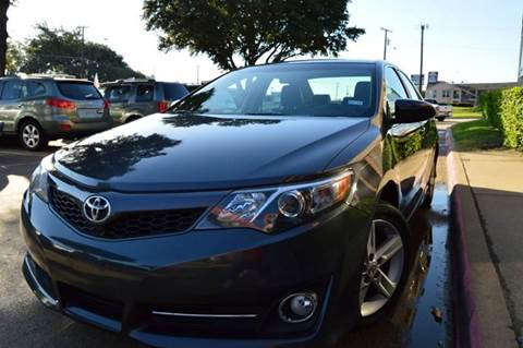 2012 Toyota Camry for sale at E-Auto Groups in Dallas TX