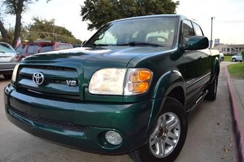2004 Toyota Tundra for sale at E-Auto Groups in Dallas TX