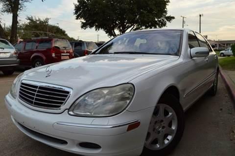 2001 Mercedes-Benz S-Class for sale at E-Auto Groups in Dallas TX