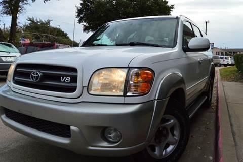 2002 Toyota Sequoia for sale at E-Auto Groups in Dallas TX