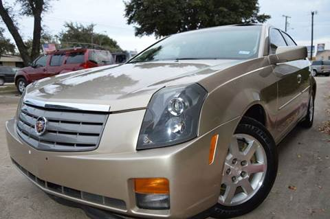 2005 Cadillac CTS for sale at E-Auto Groups in Dallas TX