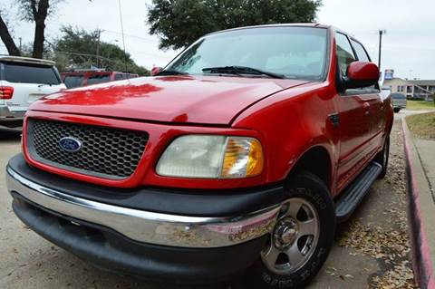 2001 Ford F-150 for sale at E-Auto Groups in Dallas TX