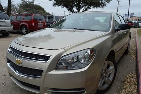 2009 Chevrolet Malibu for sale at E-Auto Groups in Dallas TX