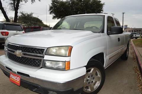 2006 Chevrolet Silverado 1500 for sale at E-Auto Groups in Dallas TX