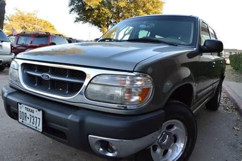 2000 Ford Explorer for sale at E-Auto Groups in Dallas TX