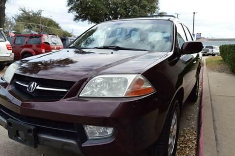 2001 Acura MDX for sale in Dallas, TX