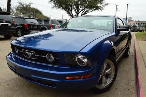 2009 Ford Mustang for sale at E-Auto Groups in Dallas TX