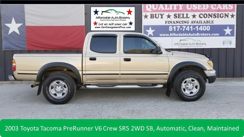 2003 Toyota Tacoma For Sale At AFFORDABLE AUTO BROKERS In Keller TX
