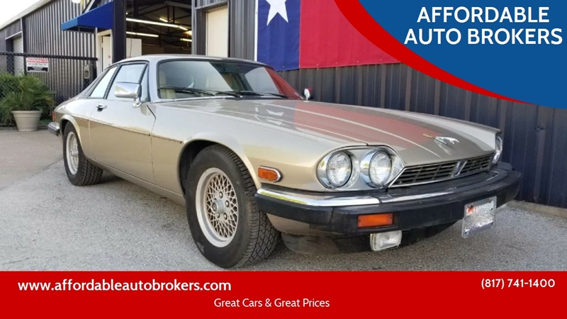 Lovely 1991 Jaguar XJ Series For Sale At AFFORDABLE AUTO BROKERS In Keller TX