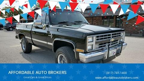 1987 Chevrolet R/V 10 Series for sale in Keller, TX