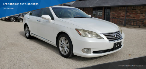 2011 Lexus ES 350 for sale at AFFORDABLE AUTO BROKERS in Keller TX