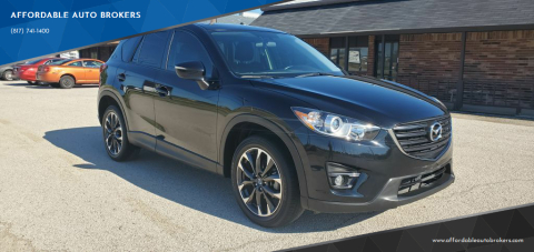2016 Mazda CX-5 for sale at AFFORDABLE AUTO BROKERS in Keller TX