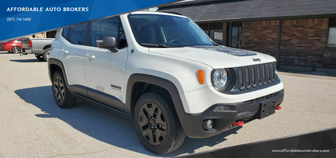 2017 Jeep Renegade for sale at AFFORDABLE AUTO BROKERS in Keller TX