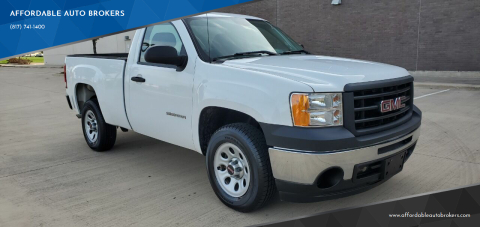 2011 GMC Sierra 1500 for sale at AFFORDABLE AUTO BROKERS in Keller TX