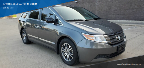 2013 Honda Odyssey for sale at AFFORDABLE AUTO BROKERS in Keller TX