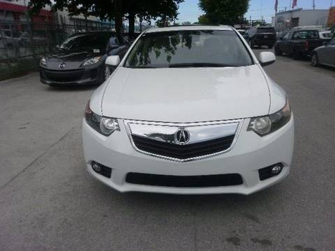 2013 Acura TSX for sale in Hollywood, FL