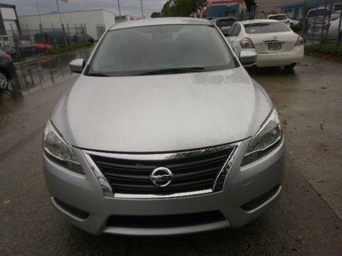 2014 Nissan Sentra for sale in Hollywood, FL