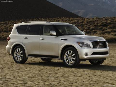 2020 Infiniti QX80 for sale at Xclusive Auto Leasing NYC in Staten Island NY