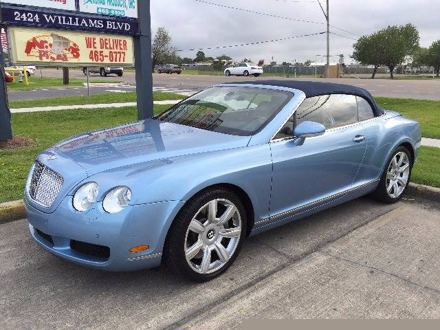 2008 Bentley Continental Gtc Base Awd 2dr Convertible In Kenner La