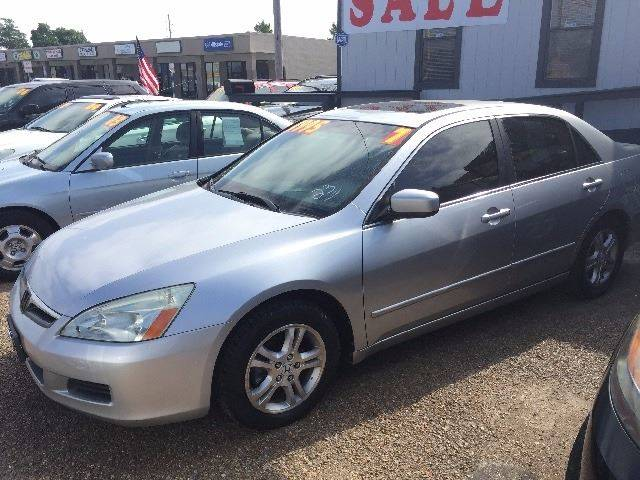 2007 Honda Accord EX L 4dr Sedan 24L I4 5A
