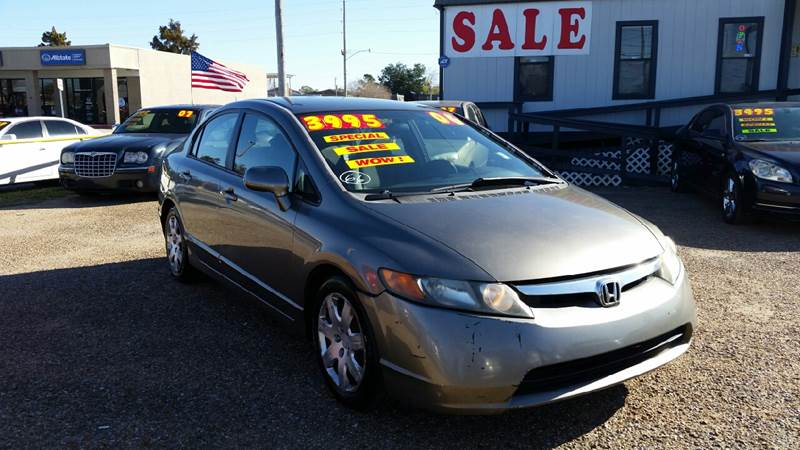 2006 Honda Civic LX 4dr Sedan W Automatic