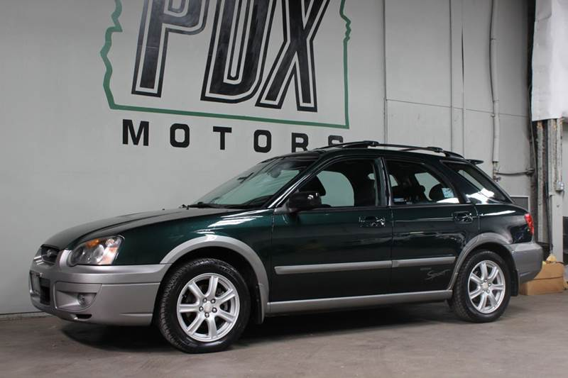 2005 Subaru Impreza Outback Sport Awd 4dr Wagon In Portland Or Pdx