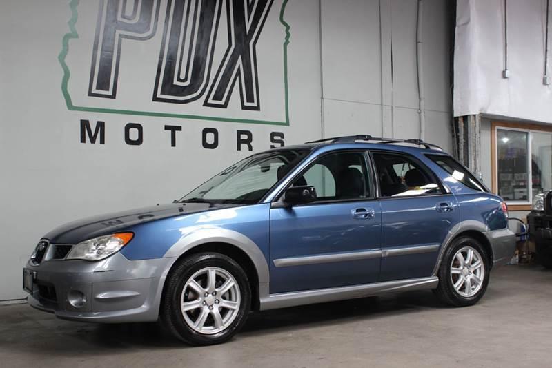2007 Subaru Impreza Outback Sport Awd 4dr Wagon 25l F4 4a In