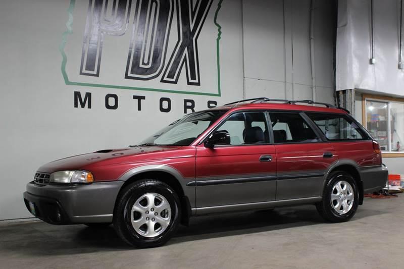 1998 Subaru Legacy Outback >> 1998 Subaru Legacy Outback Awd 4dr Wagon In Portland Or