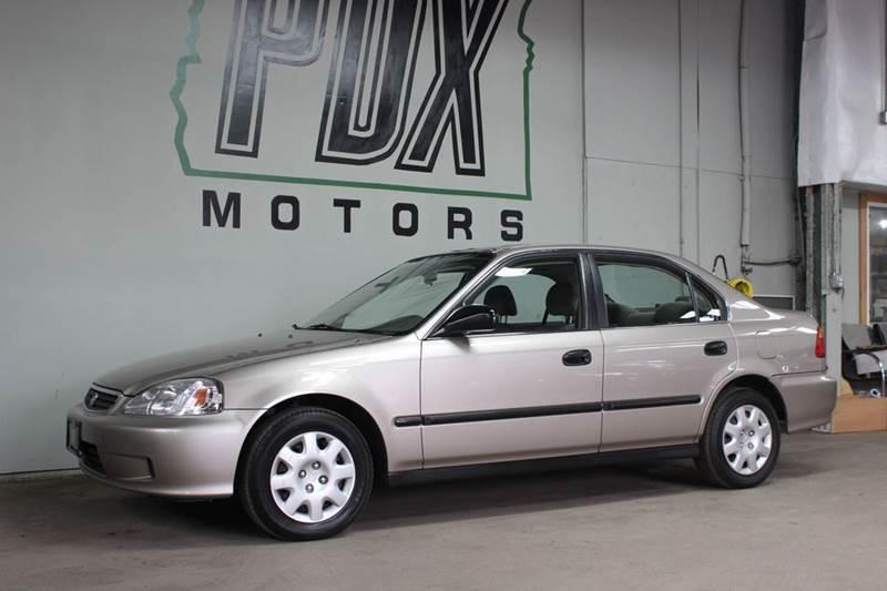 2000 Honda Civic LX 4dr Sedan   Portland OR