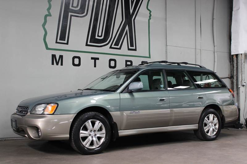 2004 Subaru Outback H6 30 35th Anniversary Edition Awd 4dr Wagon In