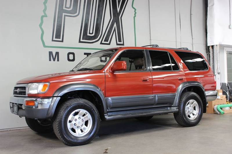 1998 Toyota 4Runner Limited 4dr 4WD SUV   Portland OR