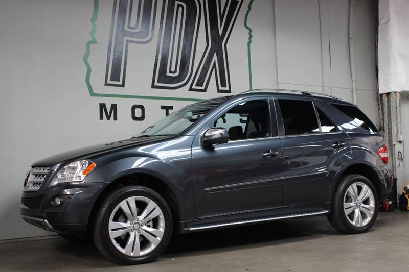 2010 Mercedes Benz M Class Ml350 4matic Awd 4dr Suv In Portland Or