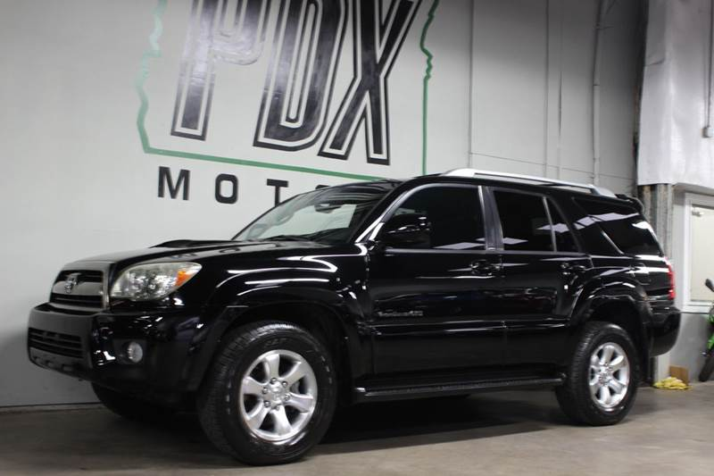 2009 Toyota 4runner Sport Edition 4x4 4dr Suv 40l V6 In Portland