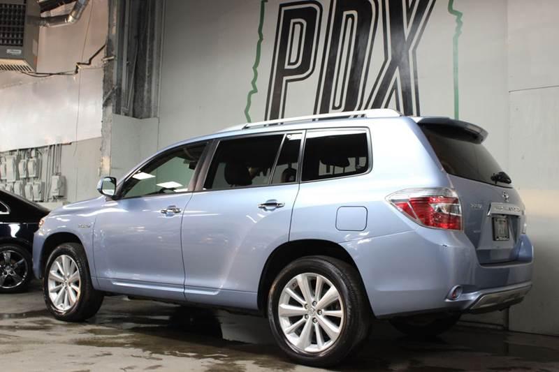 Toyota Highlander Hybrid Limited AWD Dr SUV In Portland OR - 2008 highlander hybrid