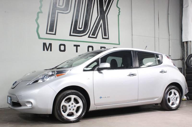 2011 Nissan Leaf Sl 4dr Hatchback In Portland Or Pdx Motors