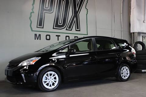 2014 Toyota Prius v for sale in Portland, OR