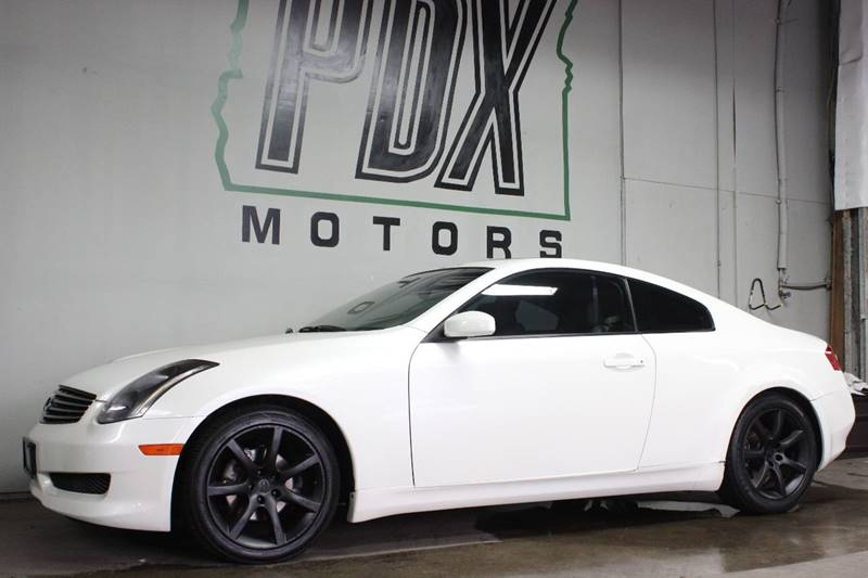 2004 Infiniti G35 Rwd 2dr Coupe In Portland Or Pdx Motors