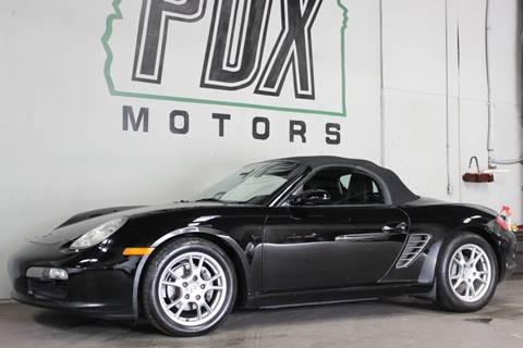2005 Porsche Boxster for sale in Portland, OR