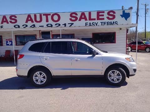 2012 Hyundai Santa Fe for sale in San Antonio, TX