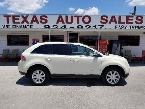 2008 Lincoln MKX for sale in San Antonio, TX