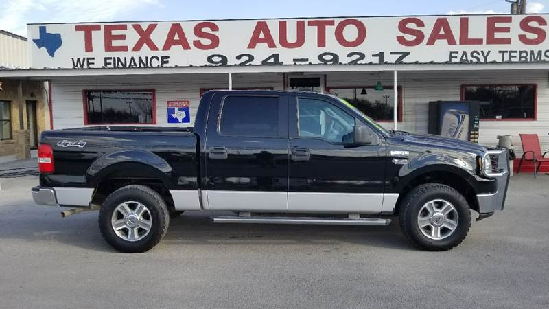 2006 ford f 150 xlt 4dr supercrew 4wd styleside 5 5 ft sb in san
