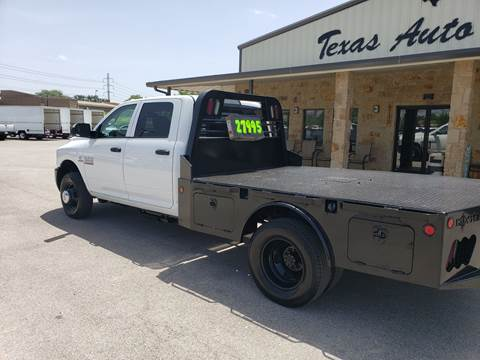 RAM Ram Chassis 3500 For Sale in San Antonio, TX - Texas