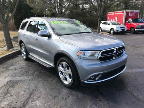 2015 Dodge Durango for sale at Interstate Fleet Inc. Auto Sales in Colmar PA